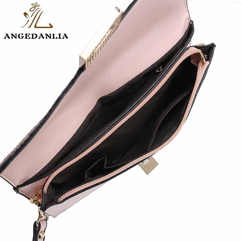 Shine powder women and ladies envelope clutch bag tote handbag bag-7