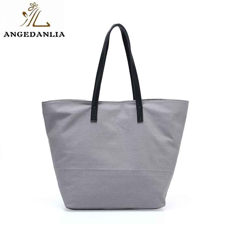 ANGEDANLIA casual boho canvas bag with zipper for daily life-7
