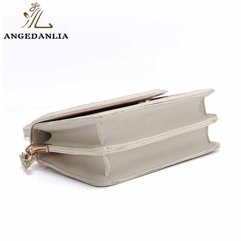 ANGEDANLIA vintage pu clutch bag woolen for travel-5