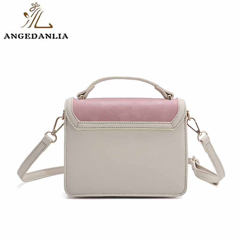 ANGEDANLIA vintage pu clutch bag woolen for travel-6