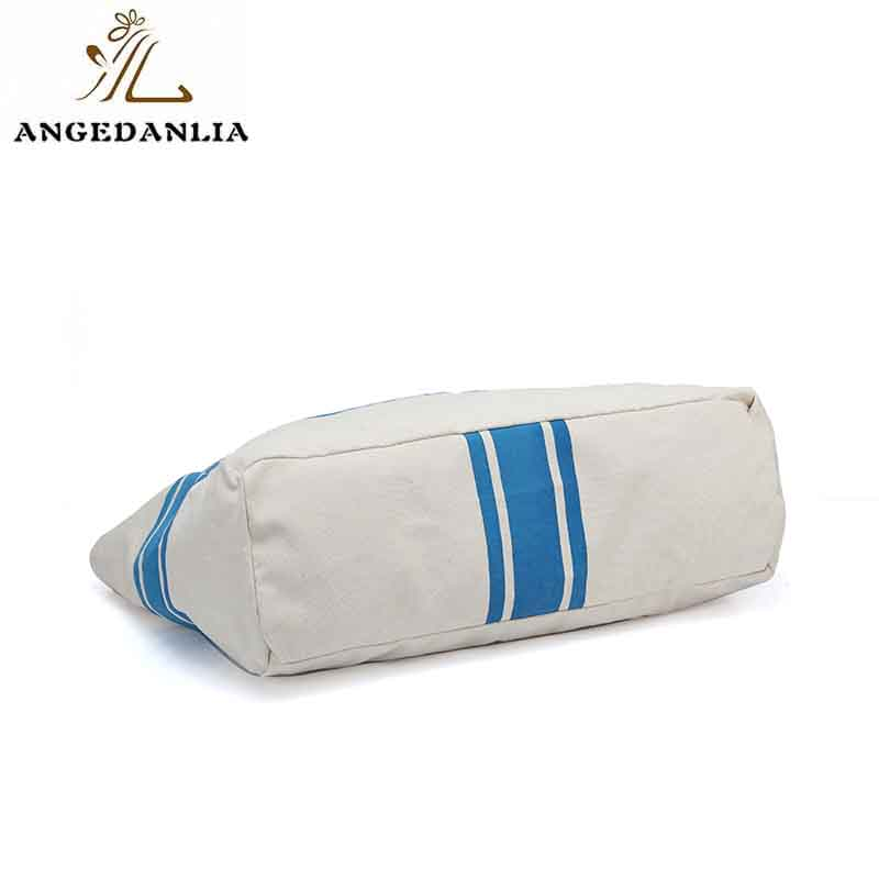 ANGEDANLIA casual canvas tote bags with zipper online for lady-5