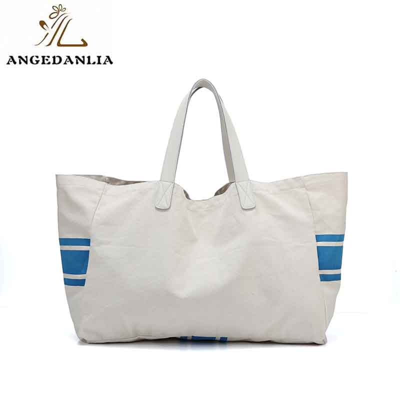 ANGEDANLIA casual canvas tote bags with zipper online for lady-6
