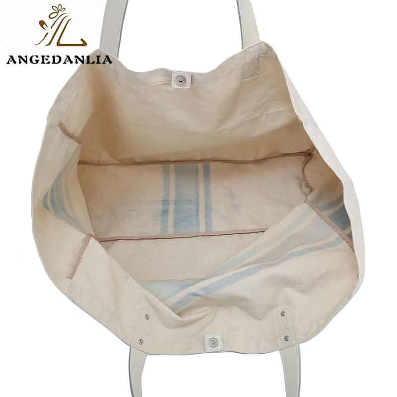 canvas bag design beach canvas tote bags ANGEDANLIA Brand