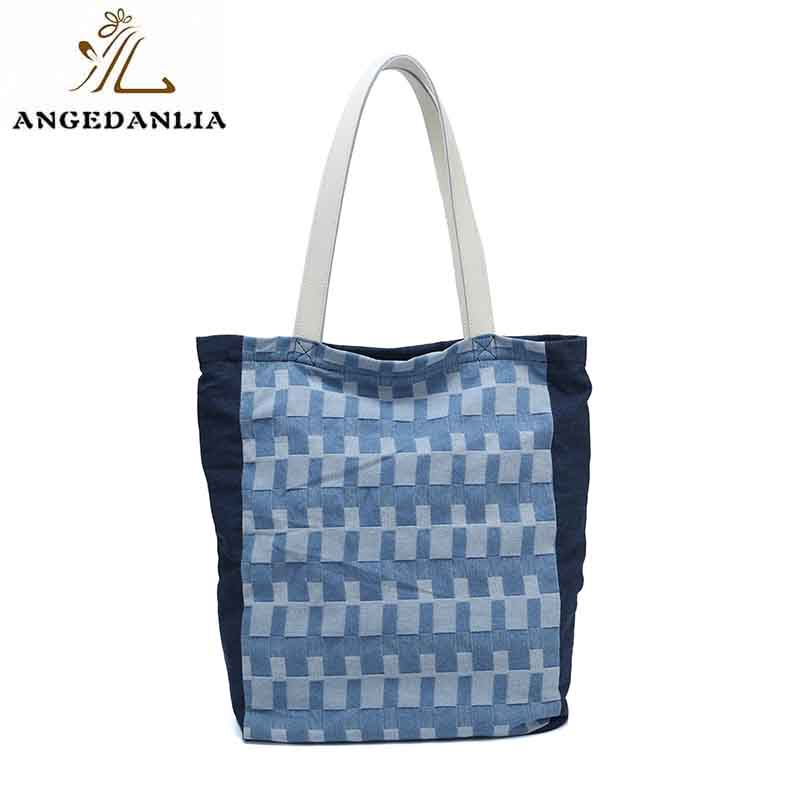 ANGEDANLIA pu canvas tote on sale for daily life-6