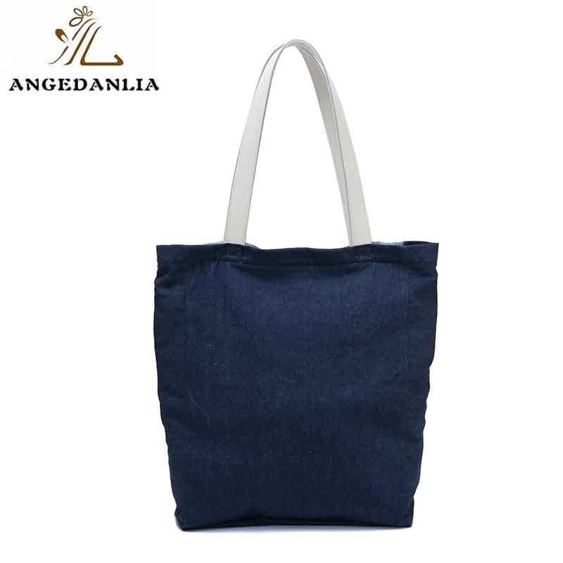 ANGEDANLIA pu canvas tote on sale for daily life-7