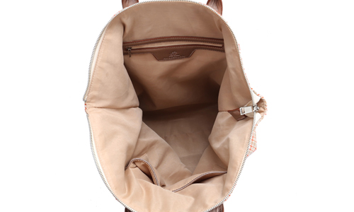 ANGEDANLIA customized canvas leather tote bag online for lady-4