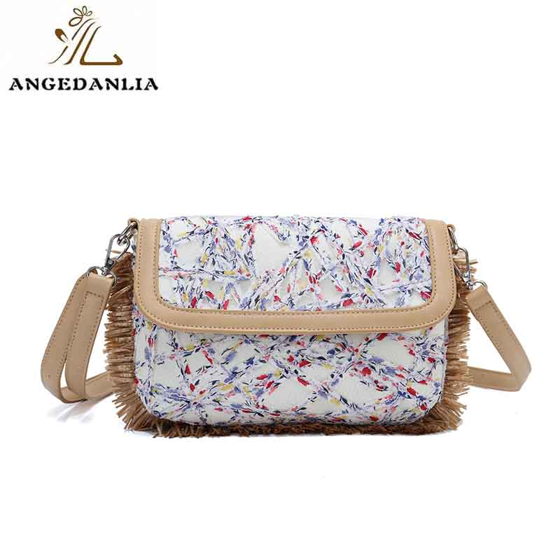 ANGEDANLIA designer small canvas bags with zipper for shopping-6