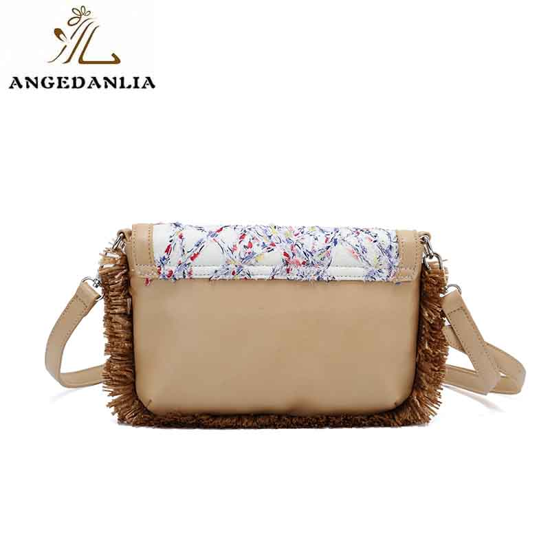 ANGEDANLIA designer small canvas bags with zipper for shopping-7