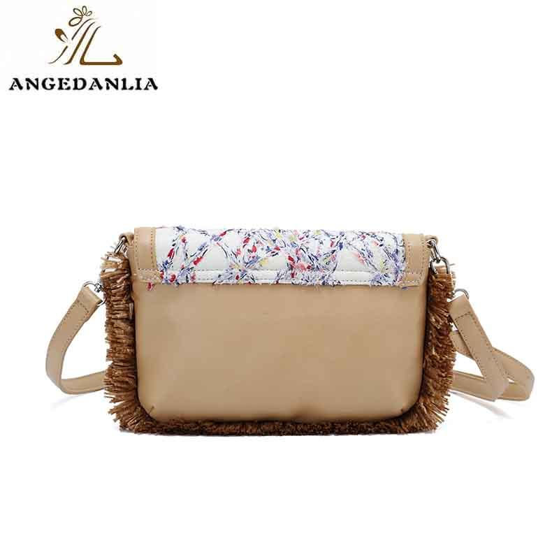 pugenuine canvas bag design handle crossbody ANGEDANLIA Brand