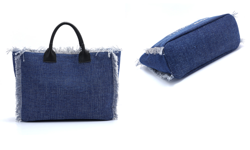 ANGEDANLIA zipper canvas bag on sale for shopping-3