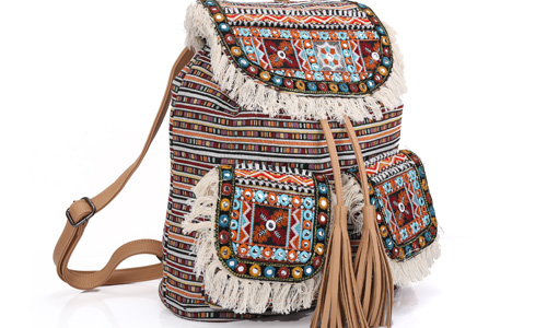 ANGEDANLIA ladies boho shoulder bag Large capacity for lady-2