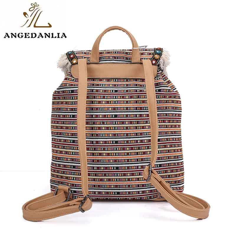 ANGEDANLIA tassel wholesale bohemian bags wholesale for girls