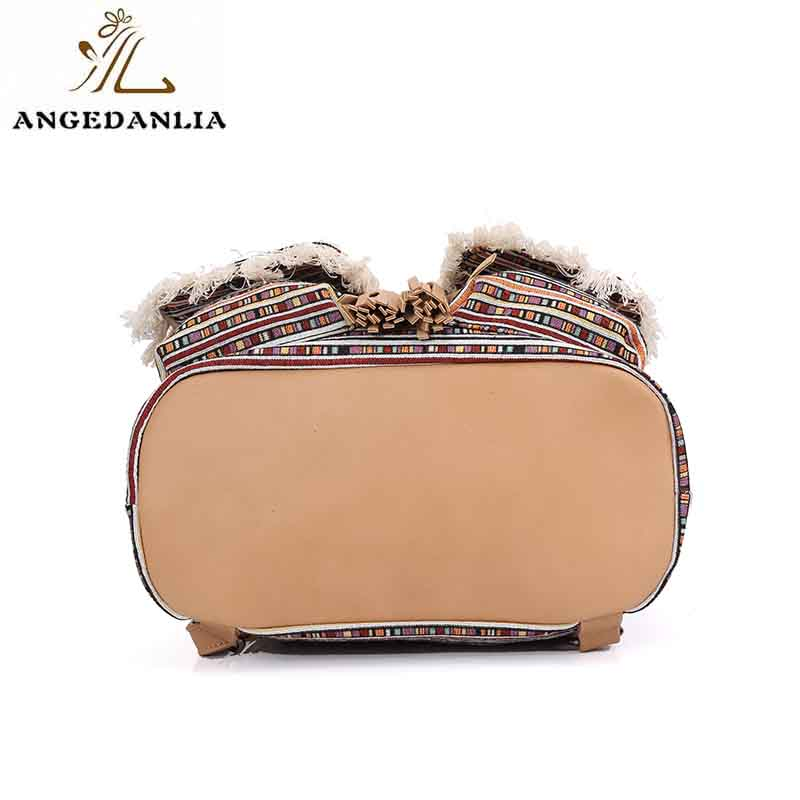 ANGEDANLIA ladies boho shoulder bag Large capacity for lady-7