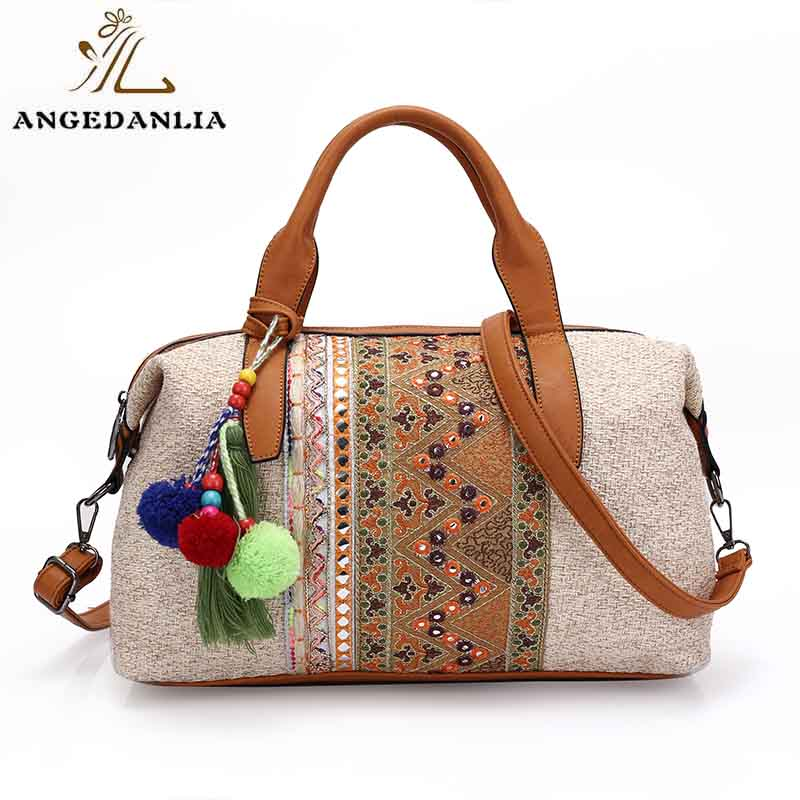 ANGEDANLIA ethnic boho fringe bag wholesale for travel-7