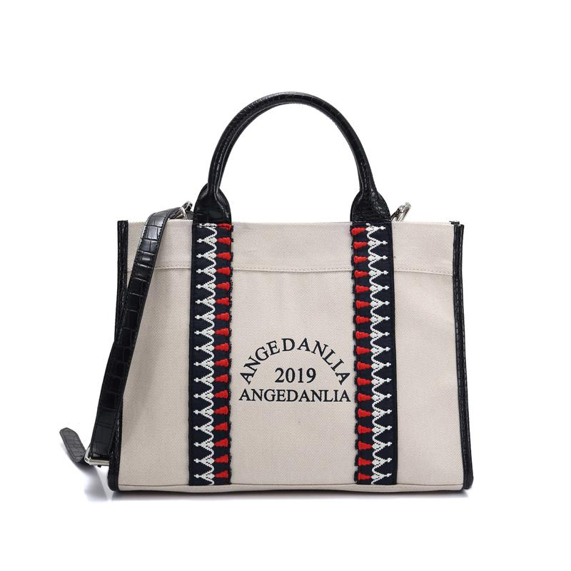 popular canvas bag design utility Chinese for shopping