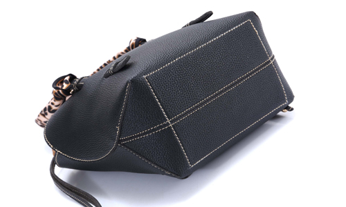 ANGEDANLIA elegant black leather purse for sale for work-3