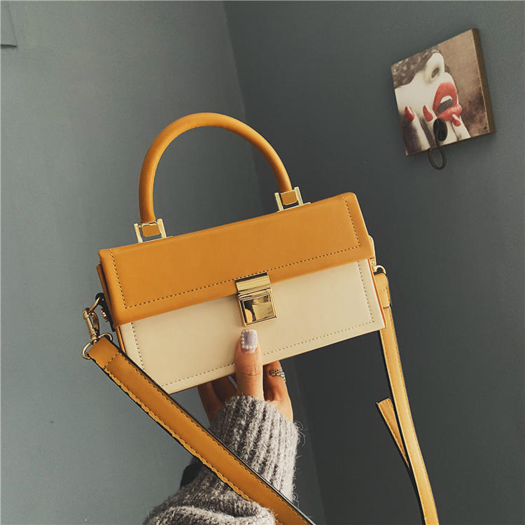 RKY0446 2019 portable female bag ladies personality small box Messenger bag