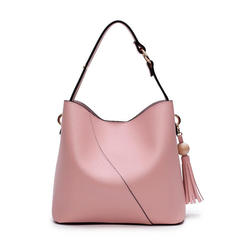 RKY0676 Elegant simple classic luxury handbag women custom logo shoulder bag tassel crossbody bag