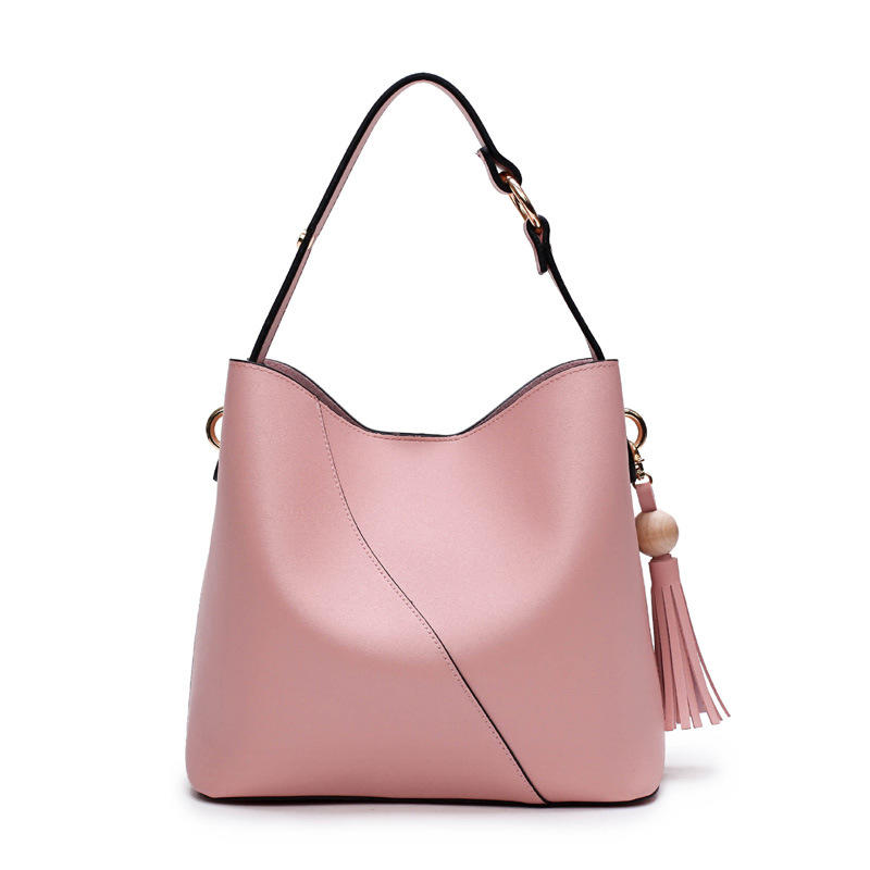 RKY0676 Elegant simple classic luxury handbag women custom logo shoulder bag tassel crossbody bag