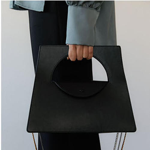 RKY0197 Angedanlia simple hard blank wild shoulder bag women handbag with chain