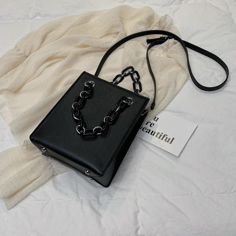 RKY0603 Simple single shoulder big female 2019 new fashion lady Korean version chain cross-body large capacity texture tote bag