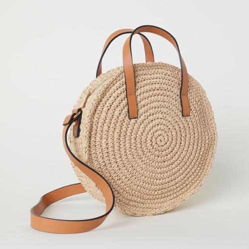 RKY1050 Angedanlia fashion hot sell wholesale handmade new circle girls handbag straw beach bag mexico