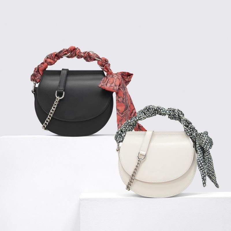 Fashion bag Saddle bag bowknot silk cover style Single shoulder woman pu bag