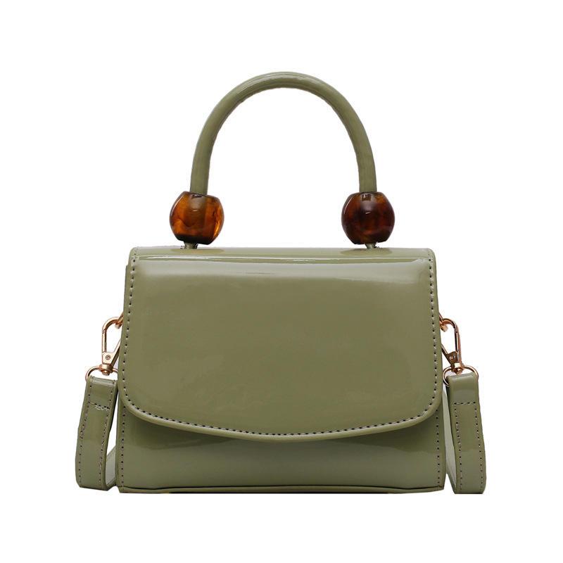 American Hotsale Cheap Pure Color Open Cover Imperial Tote Handbag For Women