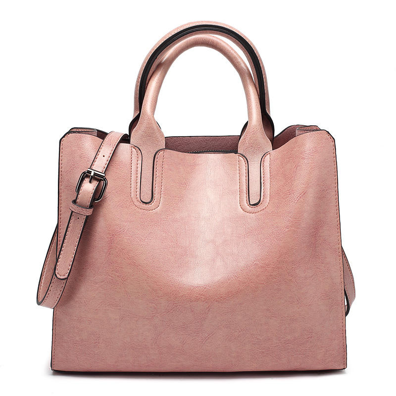 Angedanlia classic fashion designer PU leather high quality tote shoulder bags women handbags lady 2019