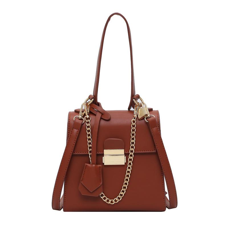 European portable lightweight tassel handbag with chain