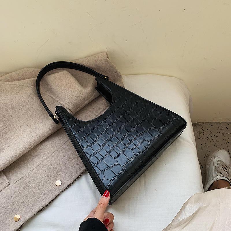 Leather handbag bags women fashion bags handbags with crocodile pattern