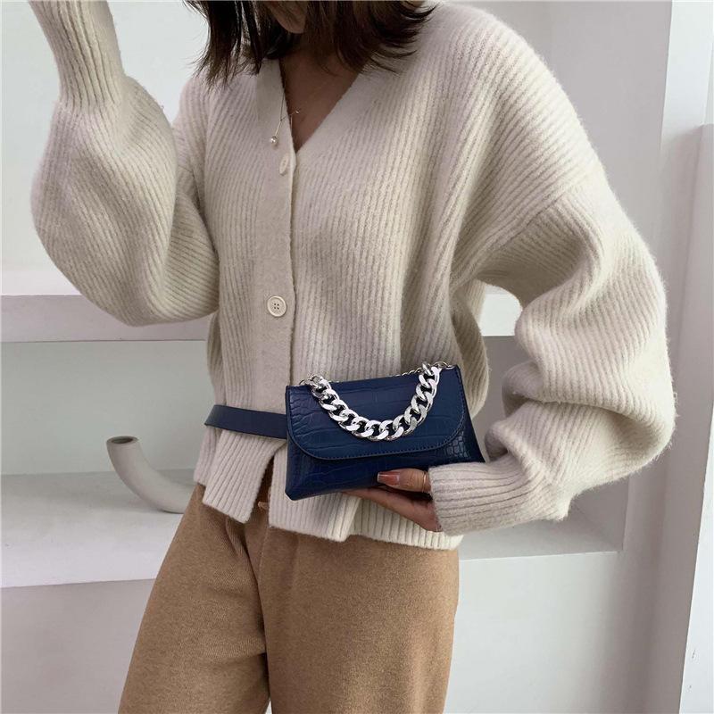 2020 fashion cheap price korea unique design satchel purse pu chain handbags