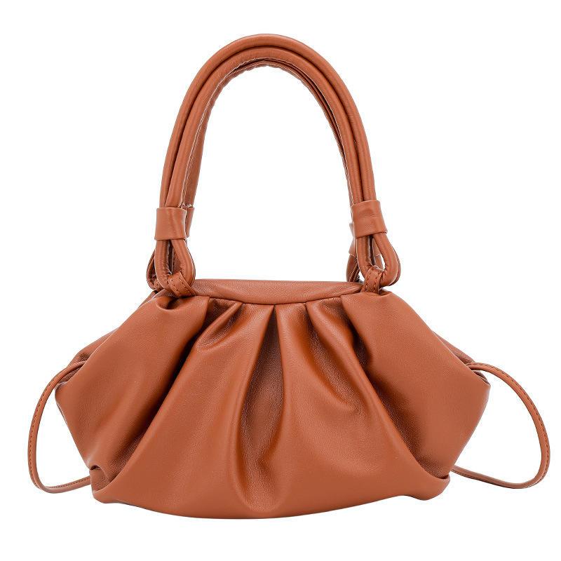 Special Design Retro Wild Down Fold Cloud Fashion Felt crossbody Women Bag
