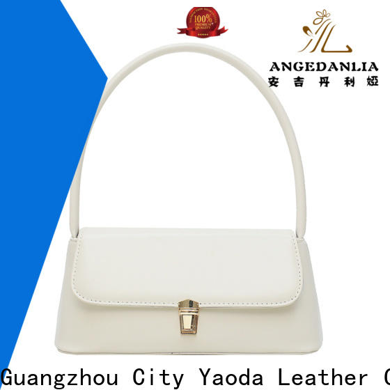ANGEDANLIA bamboo designer leather handbags for sale for women