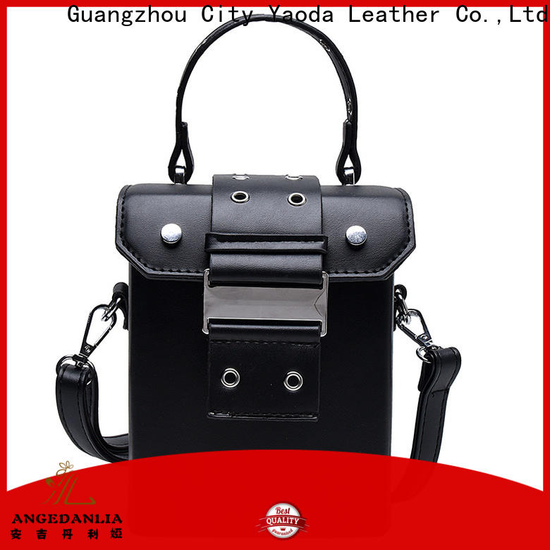 ANGEDANLIA fashion women's soft leather handbags manufacturer for date