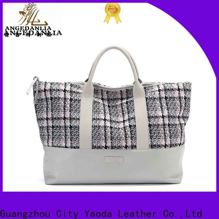 ANGEDANLIA casual canvas purse Chinese for shopping