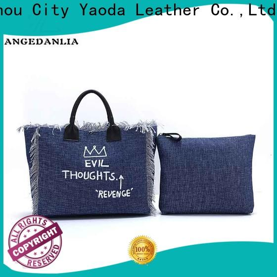 ANGEDANLIA customized Wholesale Canvas Bags with zipper for daily life