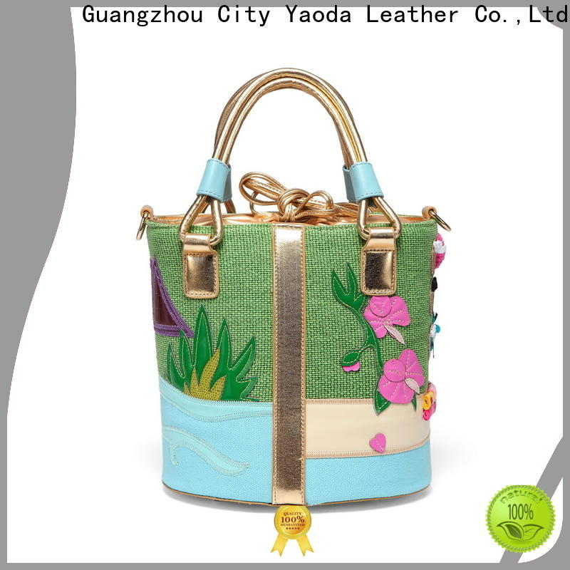 ANGEDANLIA mat embroidered canvas tote bags online for travel