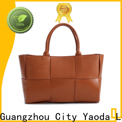 ANGEDANLIA grain brown leather tote supplier for travel
