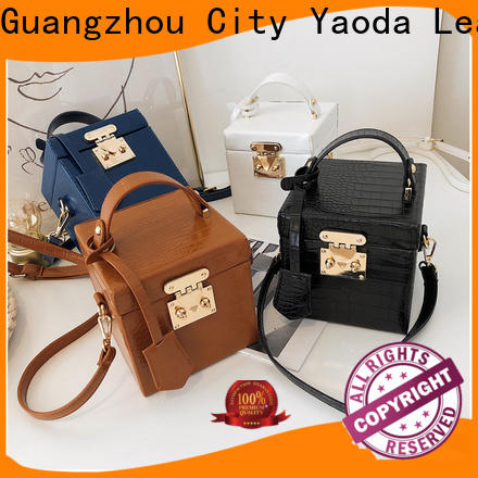 ANGEDANLIA generous new leather bag supplier for date