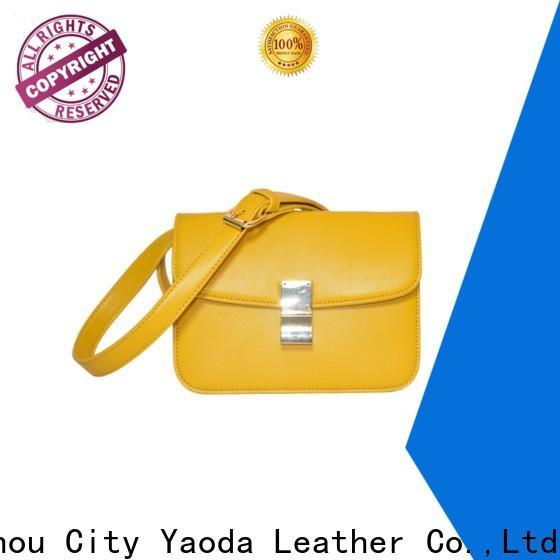 elegant soft leather bag logo for sale for travel