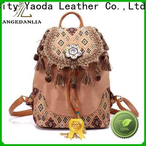 custom boho chic handbags backpacks for lady