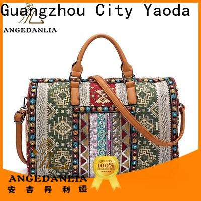 stylish bohemian hobo bag cute Large capacity for girls