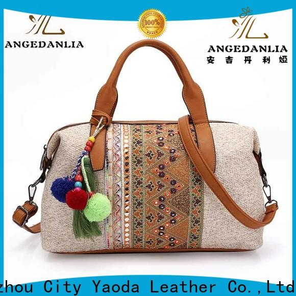 ANGEDANLIA small boho leather bags for travel
