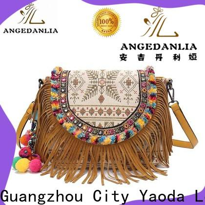 ANGEDANLIA hippie bohemian cross body bag Large capacity for women