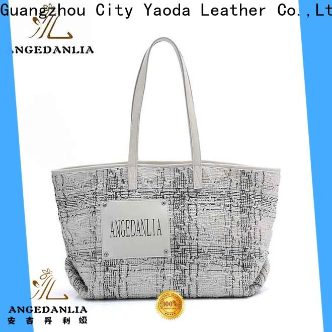 ANGEDANLIA casual waxed canvas purse on sale for shopping