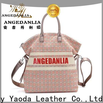 ANGEDANLIA casual cotton canvas tote bag online for travel