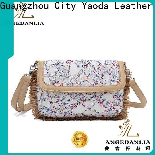 ANGEDANLIA casual canvas laundry bag on sale for shopping