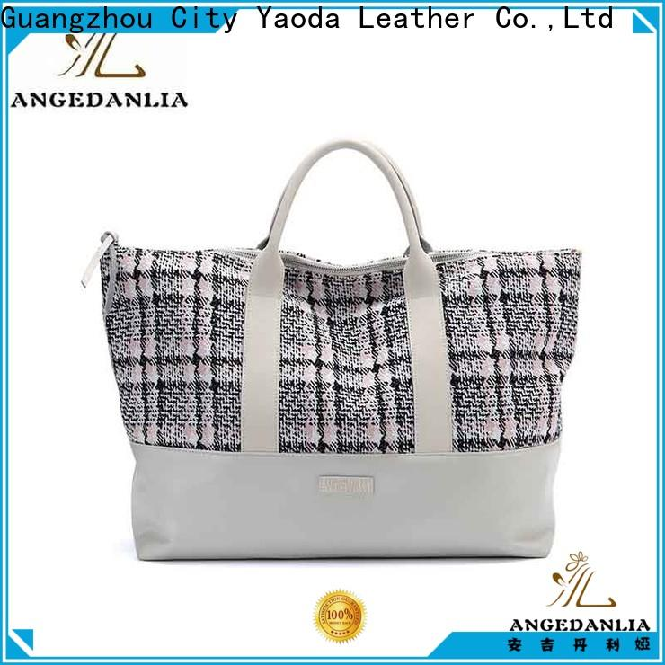 ANGEDANLIA casual women's canvas tote Chinese for lady