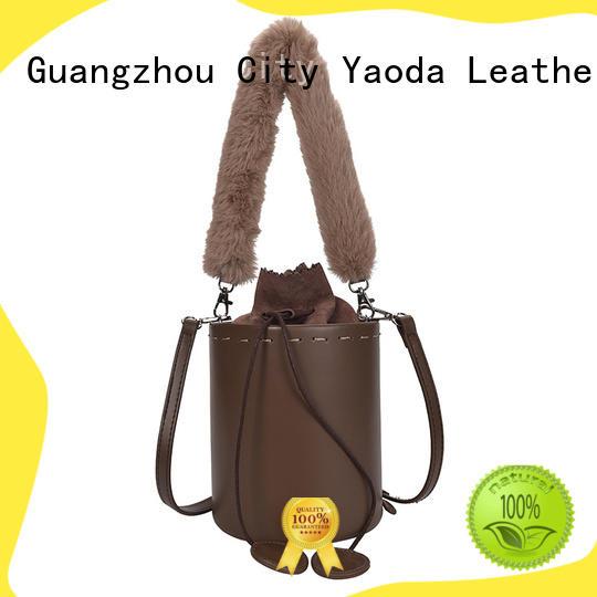 ANGEDANLIA both black leather shoulder bag supplier for date
